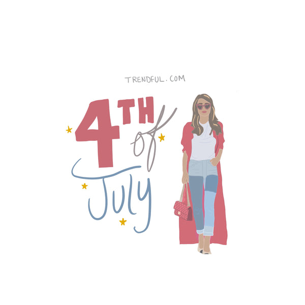 Happy 4th of July Holidays from Trendful