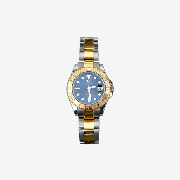 Stainless Steel and 18K Yellow Gold Yacht-Master 35MM Watch
