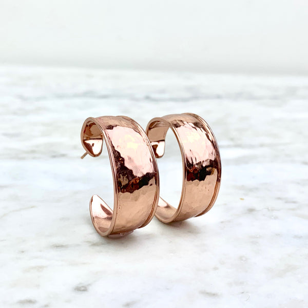 Ippolita Sterling Silver Goddess Hoop Rosé Earrings