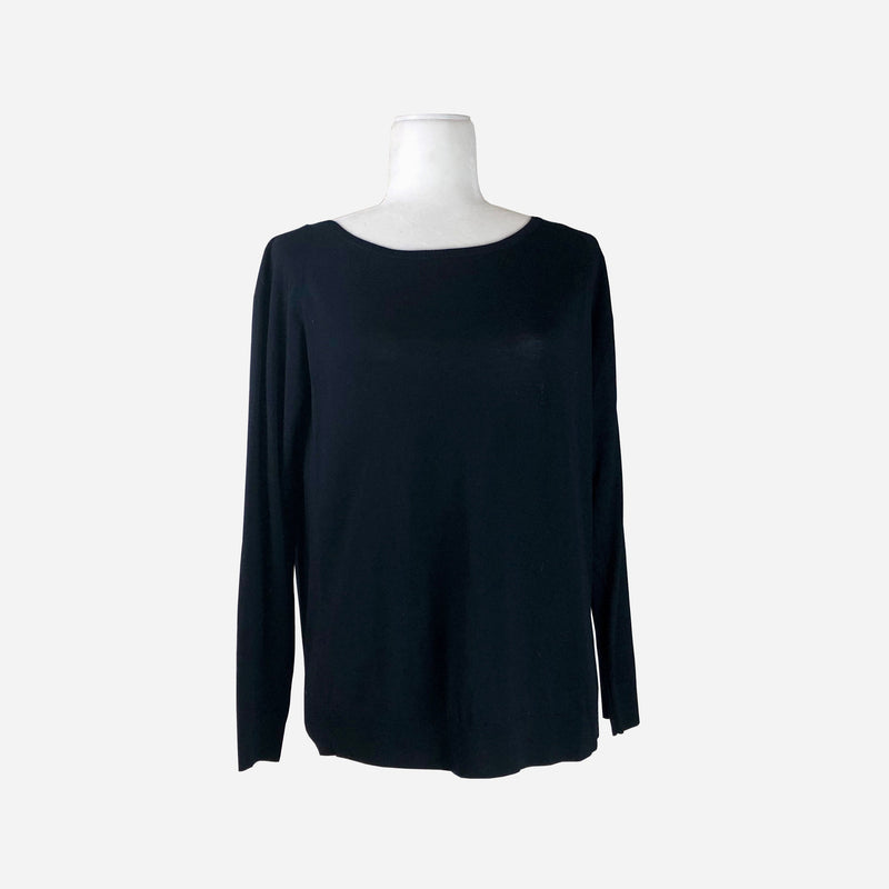 Akris Punto Black Knit Sweater
