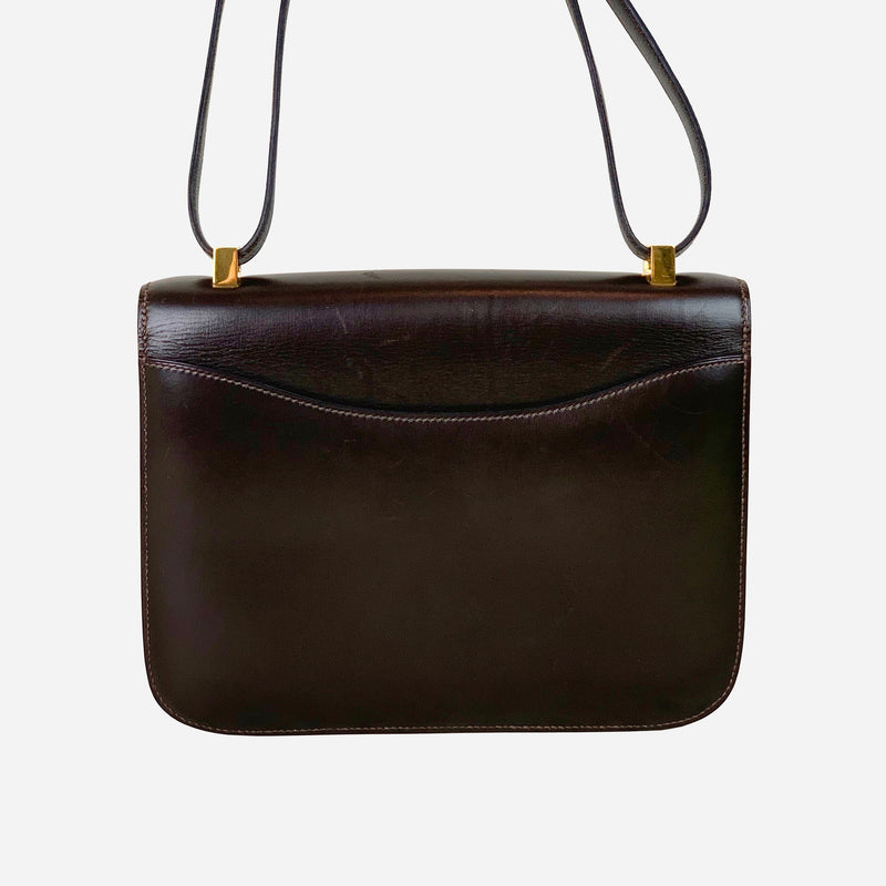 Dark-Brown Box Constance 23 Shoulder Bag