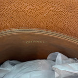 Brown Caviar Leather CC Tote