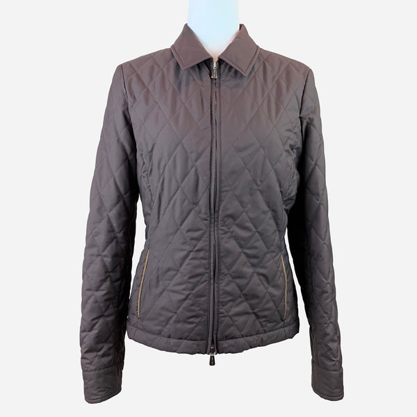 Loro Piana Brown Quilted Jacket
