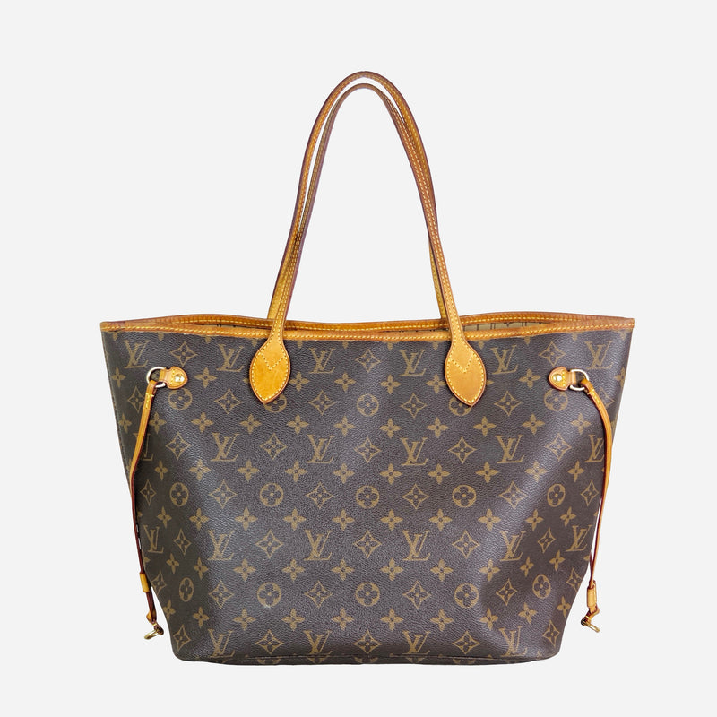 Brown and Tan Monogram Neverfull MM