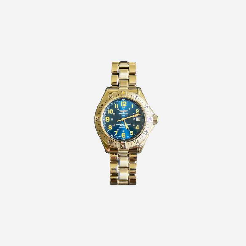 Stainless Steel SuperOcean Automatic 1000m Watch