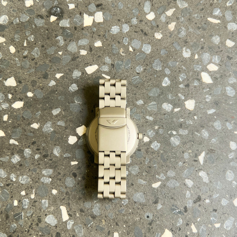 Titanium V-Matic EGO Watch