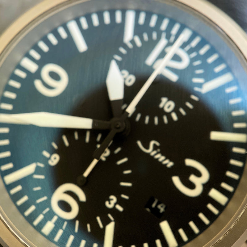 Stainless Steel 756 Automatic Chronograph Watch