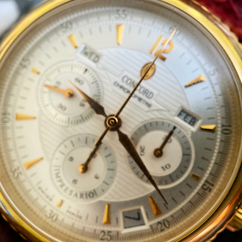 18K Yellow Gold Impresario Watch