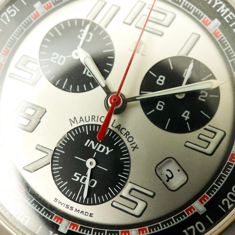 Stainless Steel Indy 500 Chronograph Watch