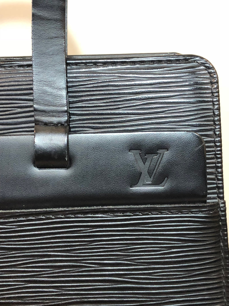 Louis Vuitton Black Epi Leather Croisette PM