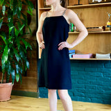 Black Sleeveless Cocktail Dress
