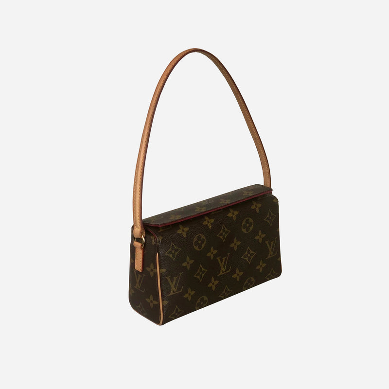 Brown and Tan Monogram Recital Bag