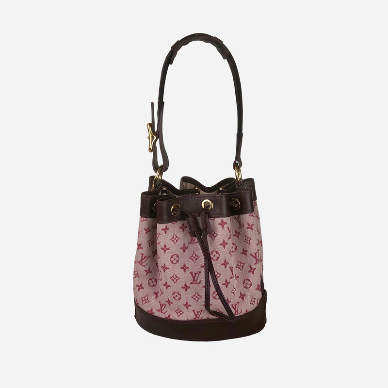 Noelie Monogram Mini Lin Canvas Tote