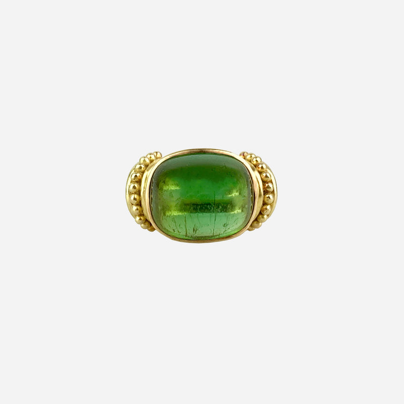 18K Tourmaline Cocktail Ring