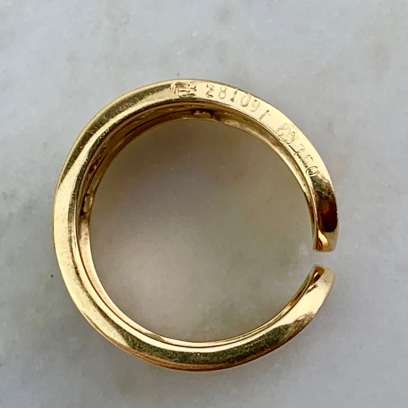 18K Ecuestre Band Ring