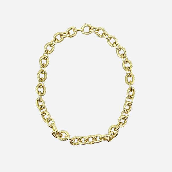 18K Belmont Curb Necklace
