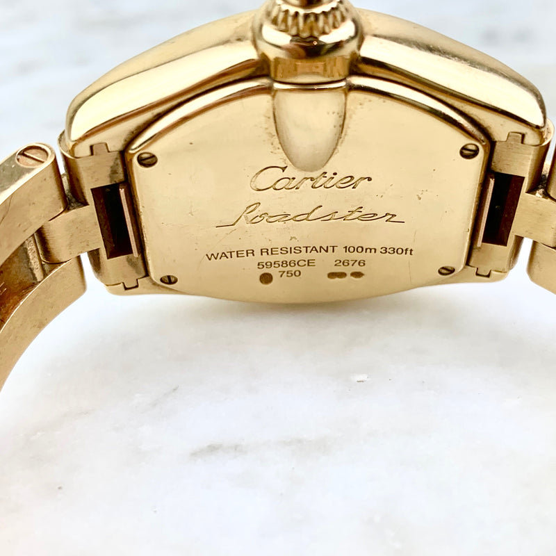 18K Yellow Gold Roadster Watch