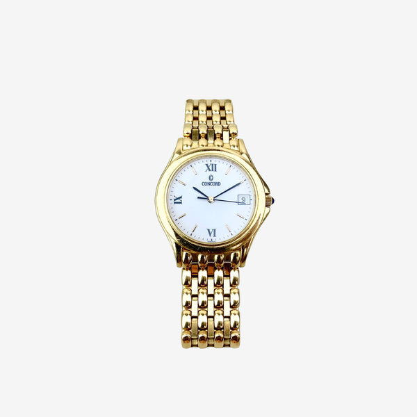 Concord 18K Yellow Gold 33MM Classic Watch