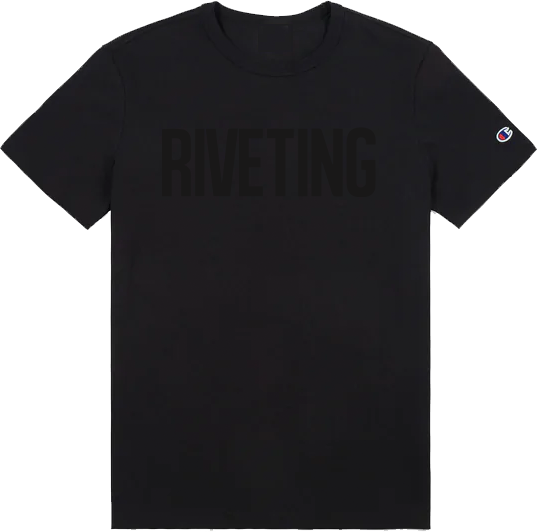 RIVETING CHAMPION T-SHIRT