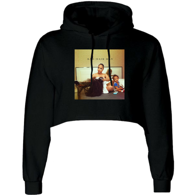 Bad Hair Day Cropped Hoodie