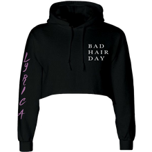 Load image into Gallery viewer, Bad Hair Day Cropped Hoodie