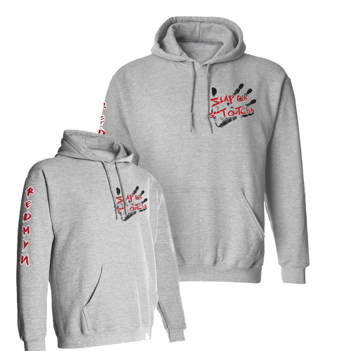 OFFICIAL REDMAN SLAP HOODIE GREY
