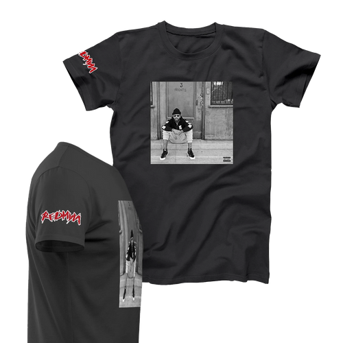 OFFICIAL REDMAN 3 JOINTS T-SHIRT BLACK