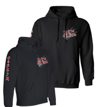 Load image into Gallery viewer, OFFICIAL REDMAN SLAP HOODIE BLACK