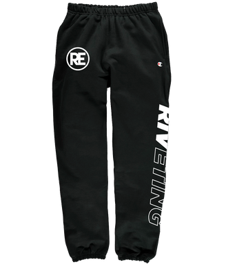 Riveting Champion Pants - White Print