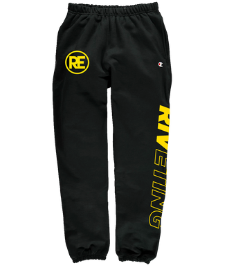 Riveting Champion Pants - Yellow Print