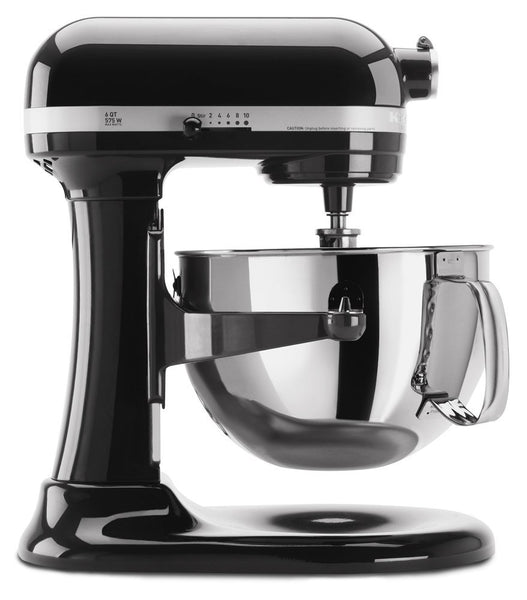 KitchenAid KP26M1XOB 6 Qt.Professional 600 Series Bowl-Lift Stand Mixer