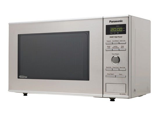 Compact Stainless Steel Microwave Oven NN-SD382S