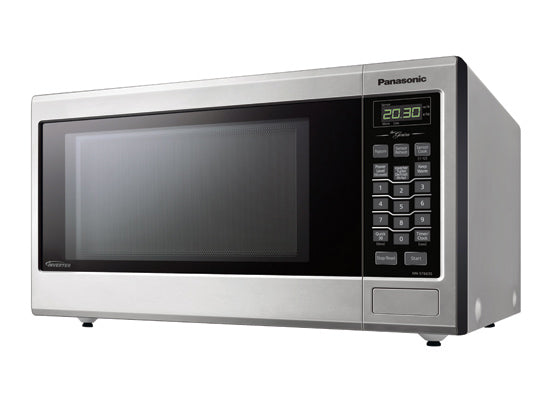 Family Size Genius® Inverter® Stainless Steel Microwave NN-ST663SC