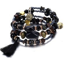 Load image into Gallery viewer, Beads Multilayer Natural Stone Bracelets For Women.