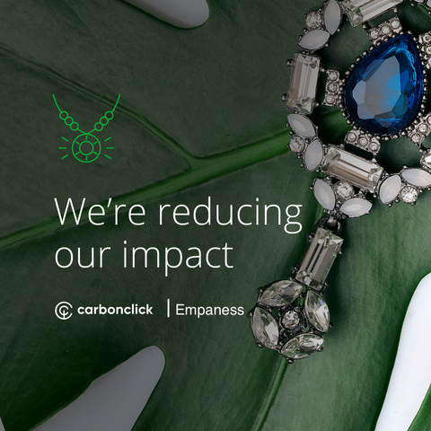 CarbonClick and Empaness help to reduce carbon footprint of purchase