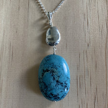 buy Recycled Turquoise & Bead Necklace online