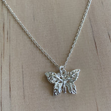 Load image into Gallery viewer, Sterling Silver Butterfly Necklace