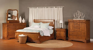 Chippewa Sleigh Bed