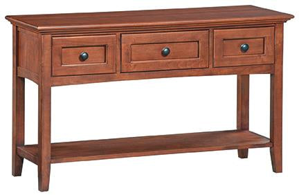 Glazed Antique Cherry Finish Option