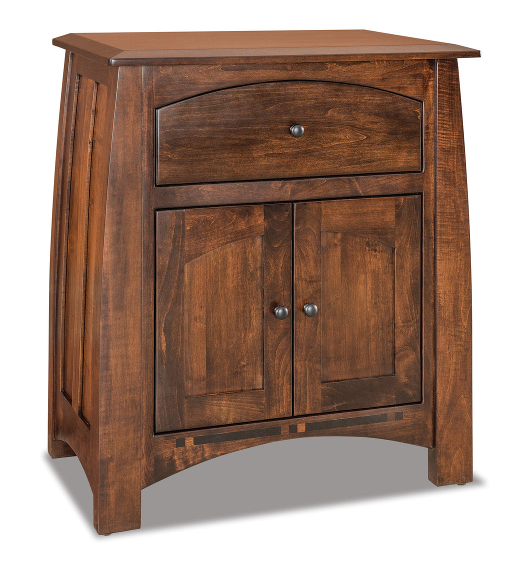 Boulder Creek Nightstand 028-3-5