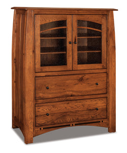 Boulder Creek Chest 062-1-Glass-Door