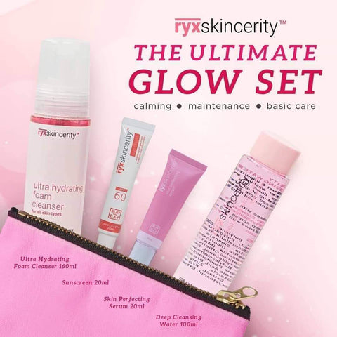 Ryx Skincerity Glow Up Set Products