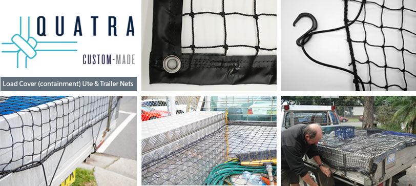 Load Cover (containment) Ute & Trailer Nets
