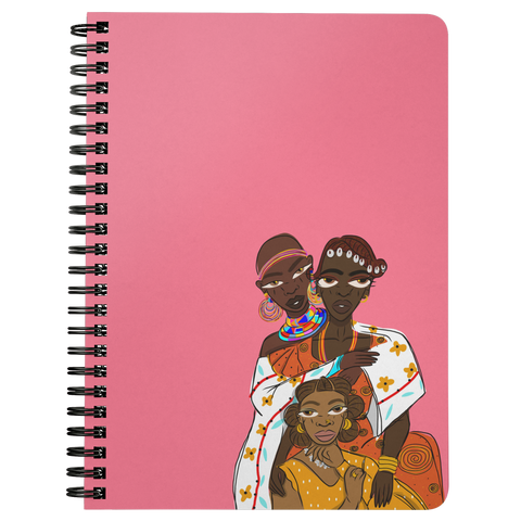 WOMAN NOTEBOOK