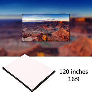mini 60 inches 16:9 Projector Screen