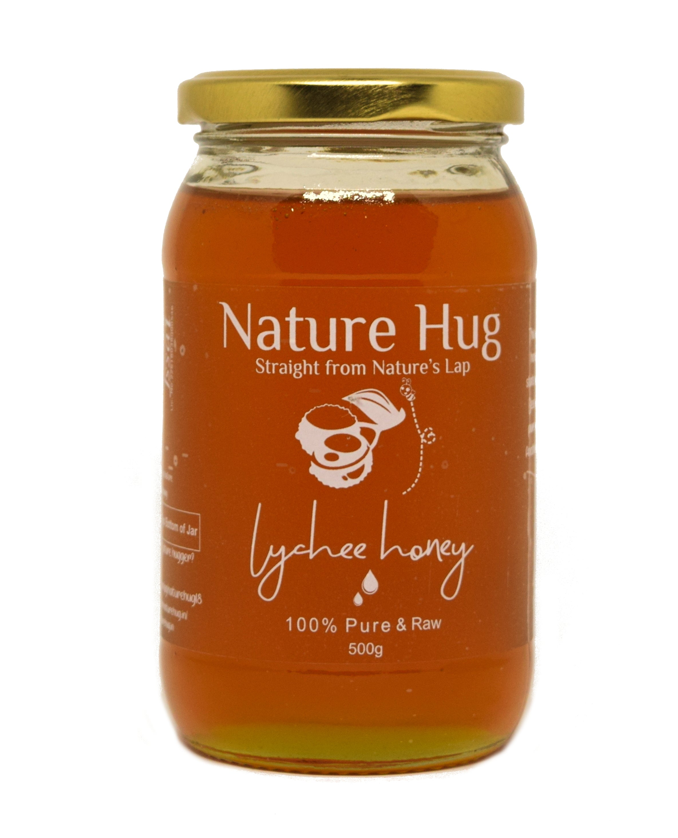 Raw Forest Honey(500g) & Raw Lychee Honey(500g) Combo