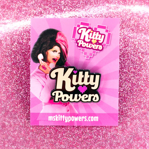 Kitty Powers 'Logo' Enamel Pin