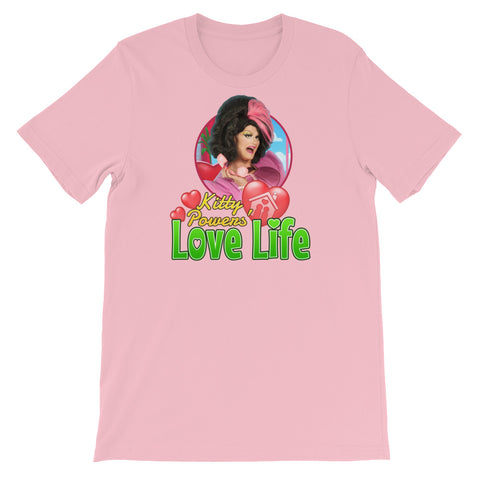 """Kitty Powers' Love Life"" Short-Sleeve Unisex T-Shirt"