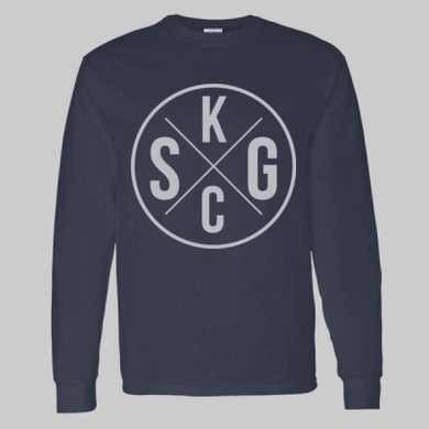 Adult LS T-Shirt KCSG Circle