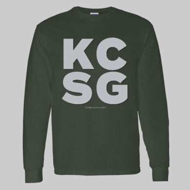 Youth LS T-Shirt KCSG Block